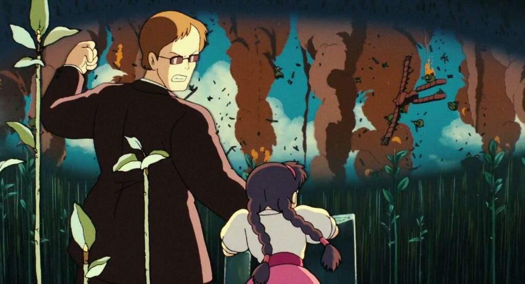 El Castillo en el Cielo Studio Ghibli Muska