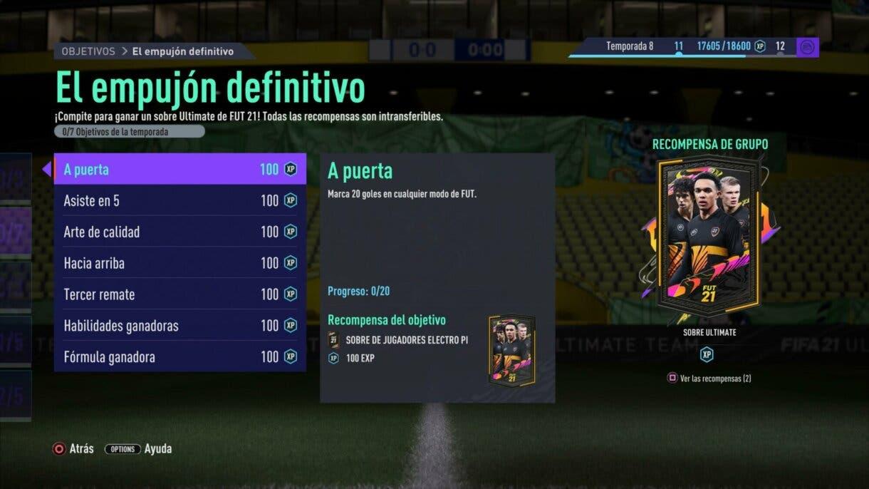 FIFA 21: ya podemos conseguir, por tiempo limitado, el mejor sobre de Ultimate Team gratuito