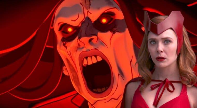 Imagen de Así de espectacular luciría Elizabeth Olsen como la versión zombie de Bruja Escarlata de ¿Qué pasaría si?