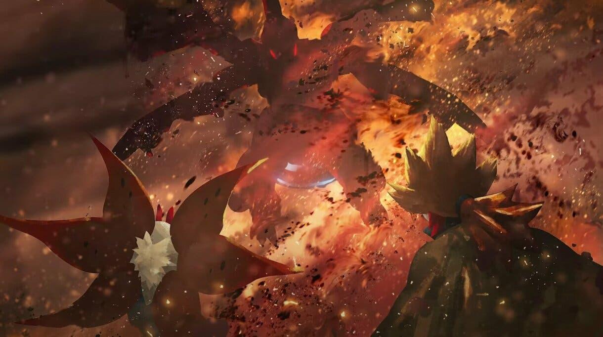 Evoluciones Pokemon Mirto Volcarona y Zelkom