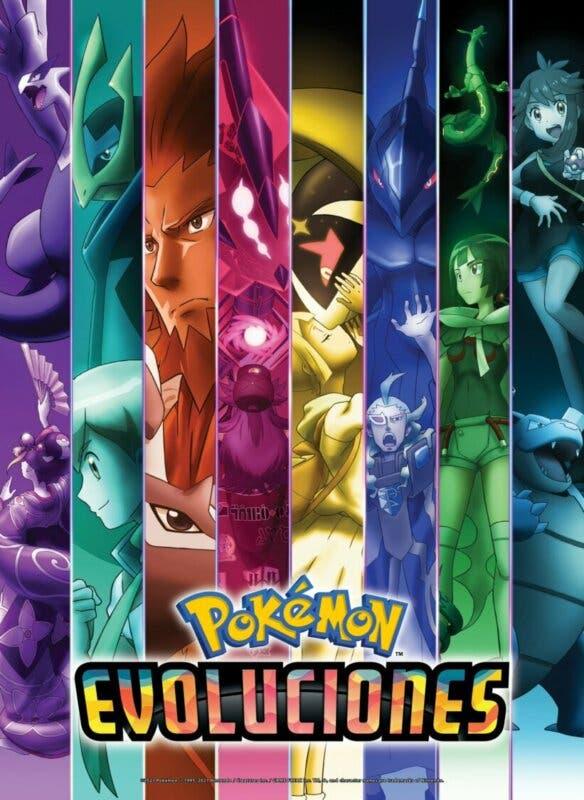 Evoluciones Pokemon poster