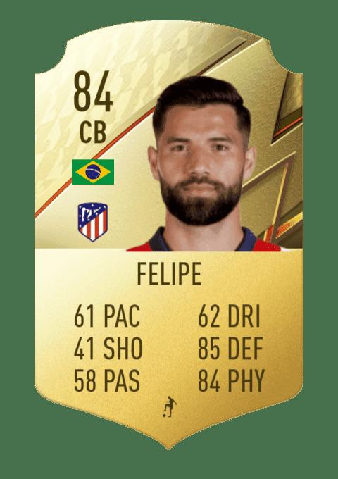 FIFA 22 medias: estas son todas las cartas del Atlético de Madrid en Ultimate Team Felipe