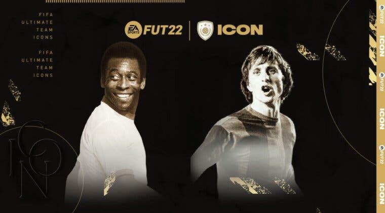 Imagen de FIFA 22: así puedes conseguir gratis a Pelé, Cruyff o Puskás Icono cedido en Ultimate Team