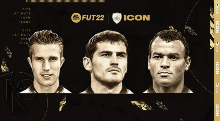 Imagen de FIFA 22 Iconos: estas son las cartas oficiales de Íker Casillas, Robin van Persie y Cafú