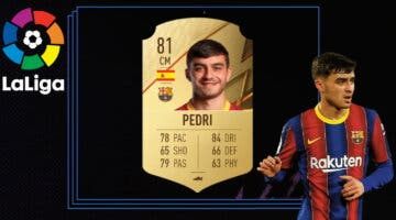 Imagen de FIFA 22: review de Pedri. ¿Es el mejor MC creativo barato de la Liga Santander?