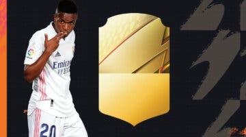 Imagen de FIFA 22: esta es la carta oficial de Vinícius Júnior en Ultimate Team