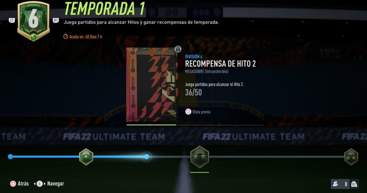 FIFA 22 Division Rivals: lista de Hitos de la primera temporada para conseguir sobres como premios Ultimate Team