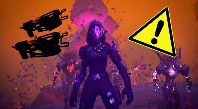 Imagen de Fortnite filtra una nueva arma dual y una localización muy extraña en su parche 18.10