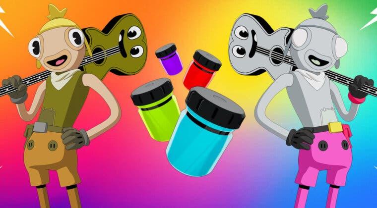 Imagen de Fortnite: dónde encontrar todos los frascos de tinta para la nueva skin Atunado de la Temporada 8
