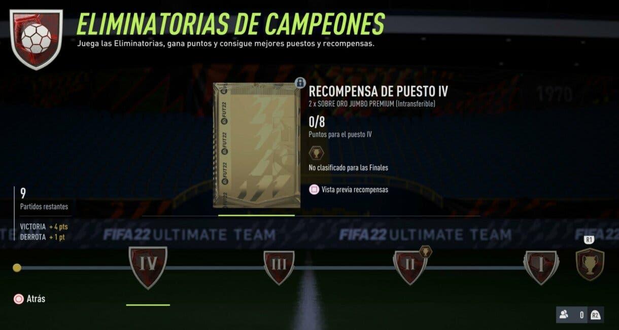 FIFA 22: esta novedad de FUT Champions no nos gusta en absoluto y creemos que empeorará el modo de juego Ultimate Team horas jugadas