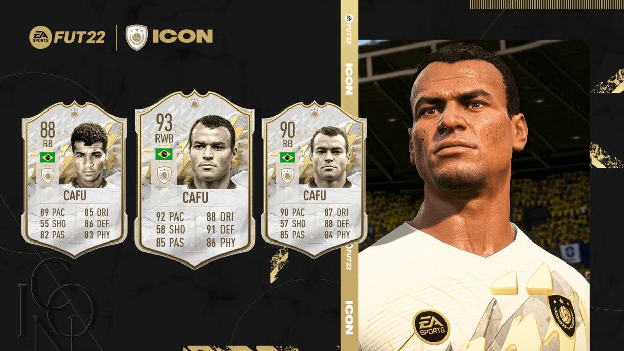 FIFA 22 Iconos: estas son las cartas oficiales de Íker Casillas, Robin van Persie y Cafú Ultimate Team 3