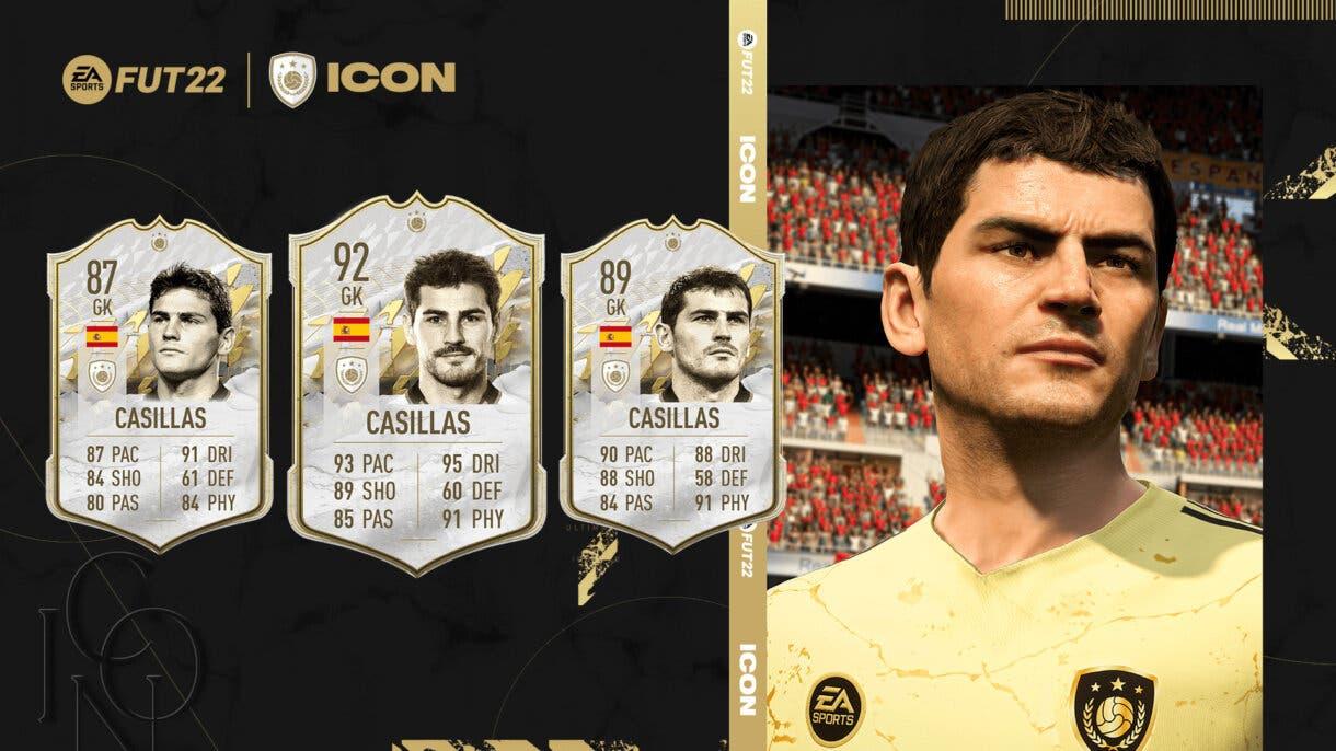 FIFA 22 Iconos: estas son las cartas oficiales de Íker Casillas, Robin van Persie y Cafú Ultimate Team 1