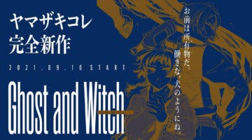 Imagen de Ghost and Witch, lo nuevo de la autora de The Ancient Magus' Bride, celebra su debut con más detalles