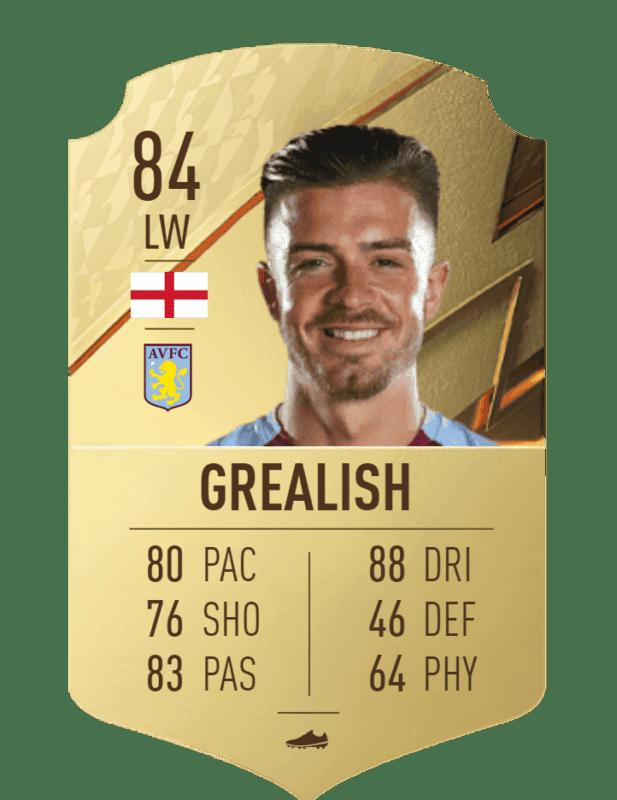 FIFA 22 medias: estas son todas las cartas reveladas del Manchester City Ultimate Team Grealish