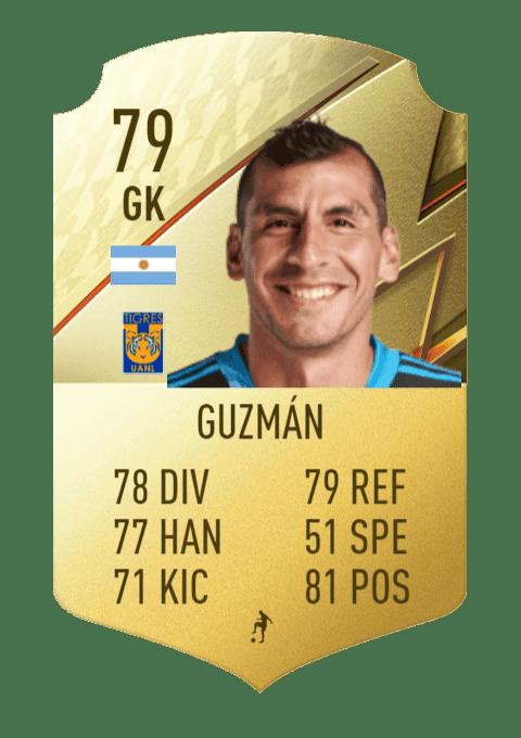 FIFA 22 medias: estas son las mejores cartas de la Primera División de México (Liga BBVA MX) Ultimate Team Guzmán