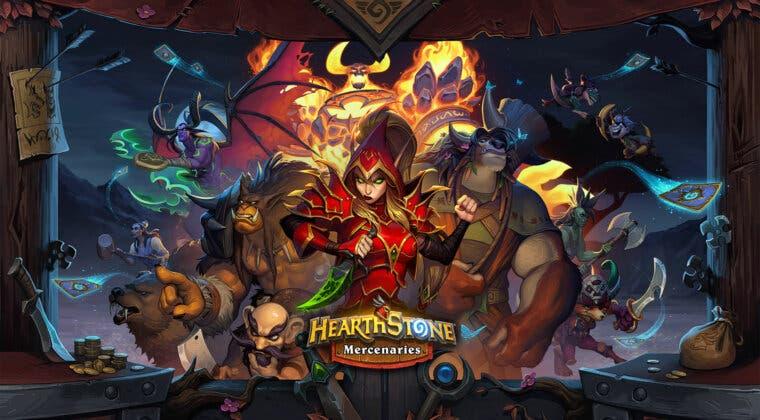 Imagen de Presentado Mercenarios, el nuevo modo de juego de Hearthstone: Tráiler, fecha y primeros detalles