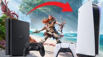 Imagen de Horizon Forbidden West: no podrás actualizar tu versión de PS4 a PS5