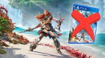 Imagen de Las mejores ediciones de Horizon Forbidden West no incluirán el juego en físico, sino un código