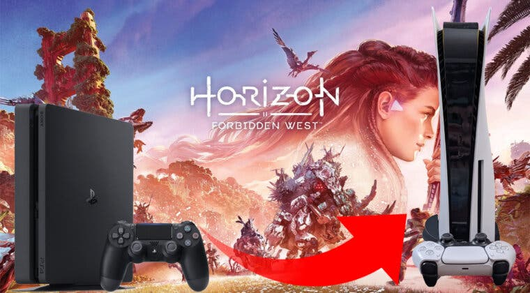 Imagen de PlayStation rectifica: Horizon Forbidden West se podrá actualizar gratis de PS4 a PS5