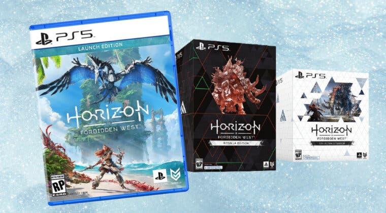 Imagen de Así es la espectacular figura de Horizon Forbidden West incluida en la Edición Regalla