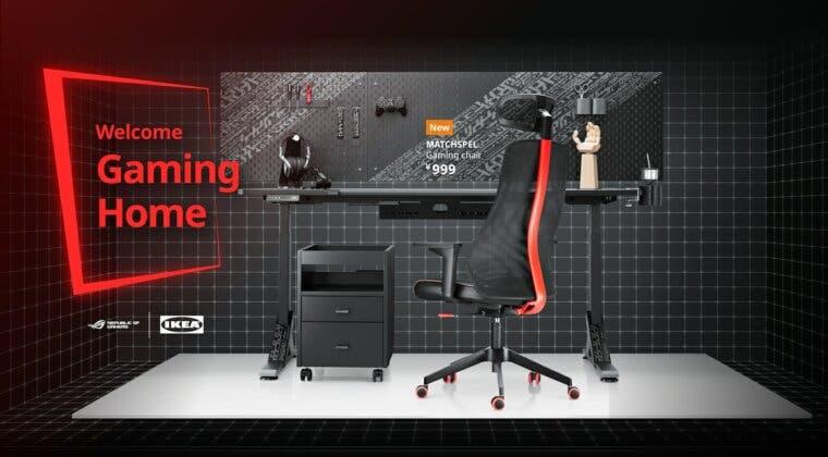 Imagen de Así es la nueva y espectacular línea de muebles y accesorios de IKEA para gaming
