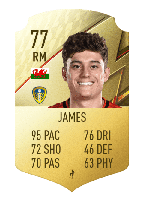 FIFA 22 medias: estos son los jugadores más rápidos de Ultimate Team y Modo Carrera Daniel James