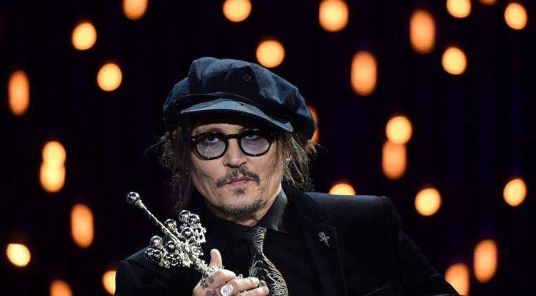 """Imagen de El crítico mensaje de Johnny Depp al ganar el Premio Donostia: """"yo también creo en mí"""""""