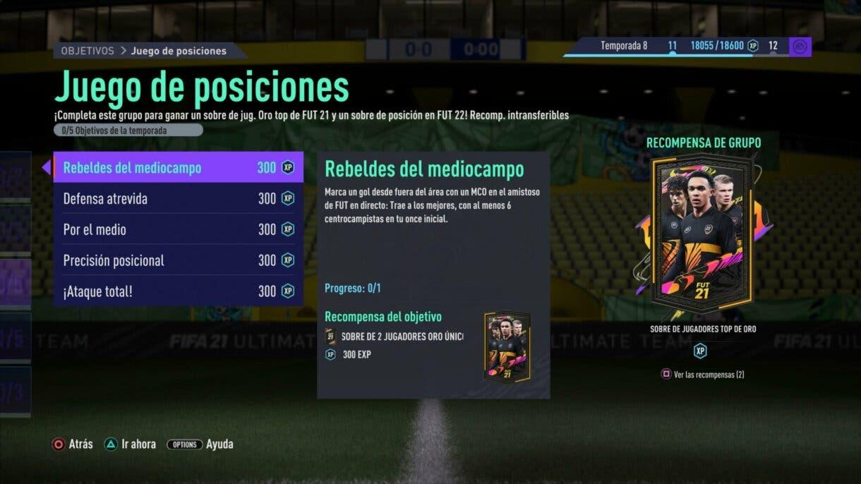 FIFA 21: con estos objetivos puedes conseguir jugadores +80 en FIFA 22 Ultimate Team