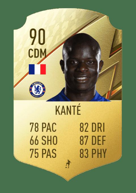 FIFA 22 medias: estos son los futbolistas con más defensa de Ultimate Team y Modo Carrera Kanté