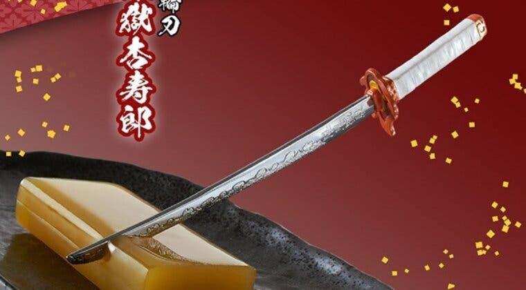 Imagen de Las Espadas Nichirin de Kimetsu no Yaiba ya se venden como cuchillos de postre