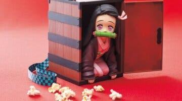 Imagen de Kimetsu no Yaiba: Un cubo de palomitas de Nezuko se agota en Japón con colas de hasta 5 horas