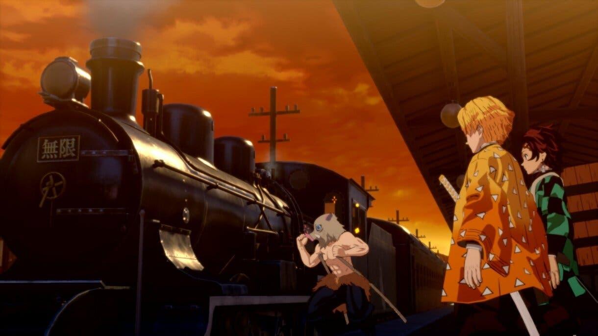 kimetsu no yaiba the hinokami chronicles tren infinito 1