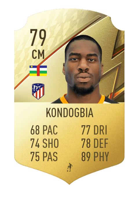 FIFA 22 medias: los jugadores con más físico en Ultimate Team y Modo Carrera Kondogbia