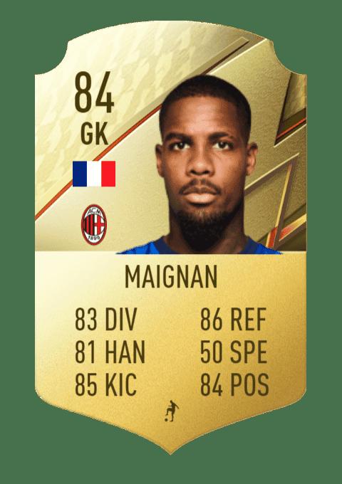 FIFA 22 medias: estos links verdes pueden ser muy interesantes en Ultimate Team Maignan