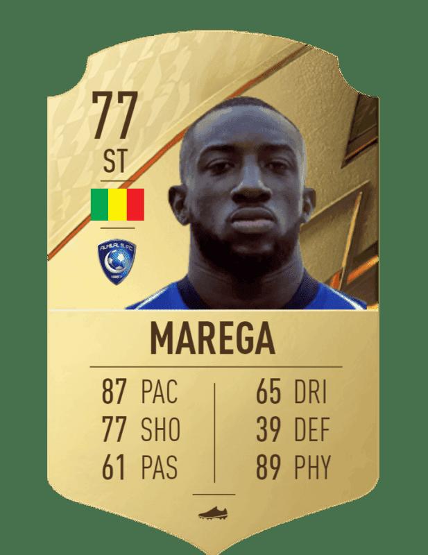 FIFA 22 medias: los jugadores con más físico en Ultimate Team y Modo Carrera Marega