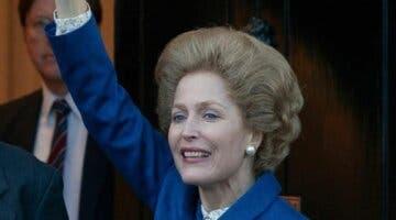 Imagen de The Crown: la enorme metedura de pata de una periodista que pregunta a Gillian Anderson sobre Margaret Tatcher