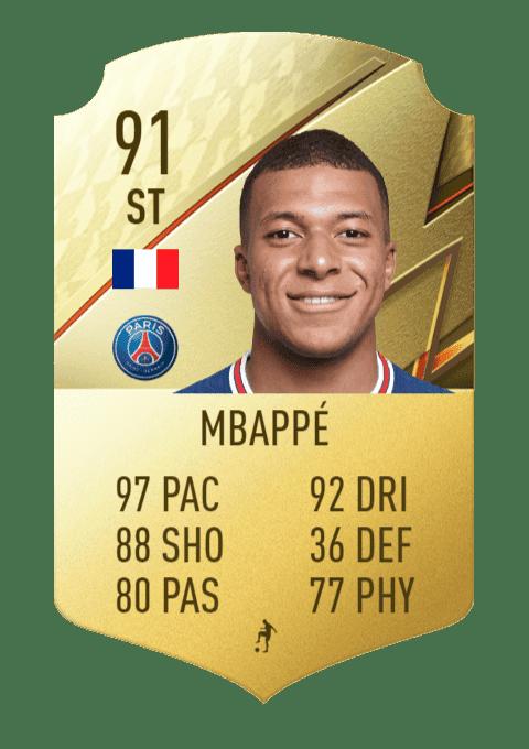 FIFA 22 medias: los mejores regateadores de Ultimate Team y Modo Carrera Mbappé
