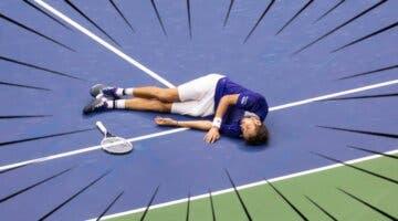 """Imagen de """"L2 e izquierda""""; así es la peculiar celebración con guiño a FIFA del campeón del US Open de tenis"""