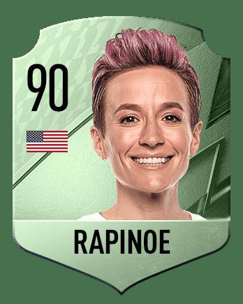 Estas son las mejores jugadoras de FIFA 22 (medias) Rapinoe
