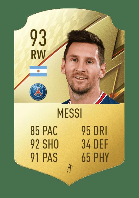FIFA 22 medias: los mejores pasadores de Ultimate Team y Modo Carrera Messi