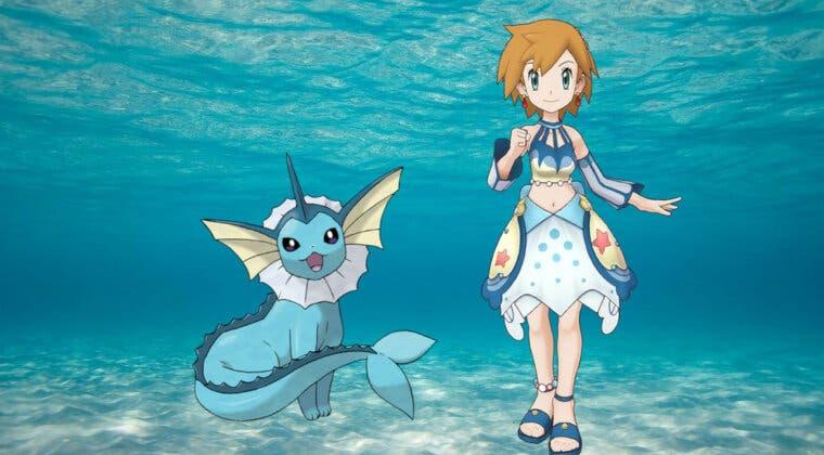 Imagen de Pokémon Masters EX: Análisis de Misty (Traje S) y Vaporeon