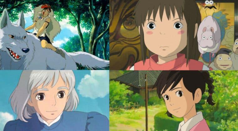 Imagen de Studio Ghibli: Una encuesta revela con cuál de sus personajes femeninos nos identificamos más