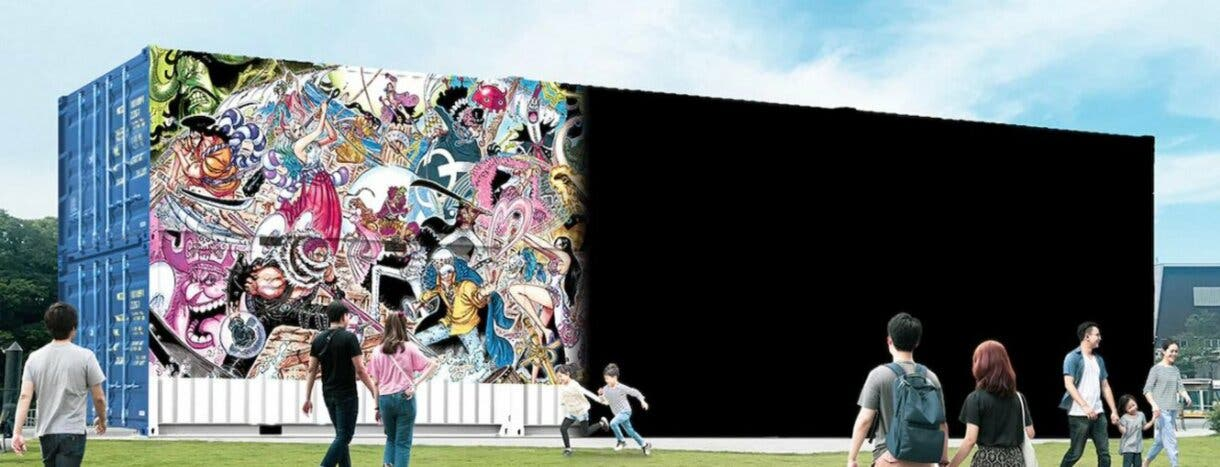 muro One Piece 50 personajes mas populares