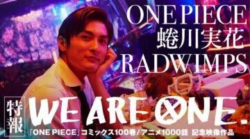 Imagen de One Piece y la música de Radwimps se fusionan en este emotivo videoclip