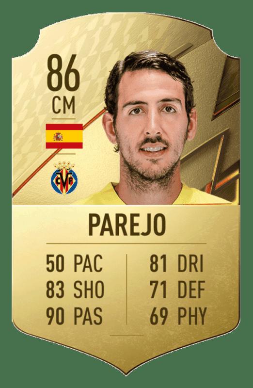 FIFA 22 medias: estos son los 20 mejores jugadores de la Liga Santander en Ultimate Team Parejo