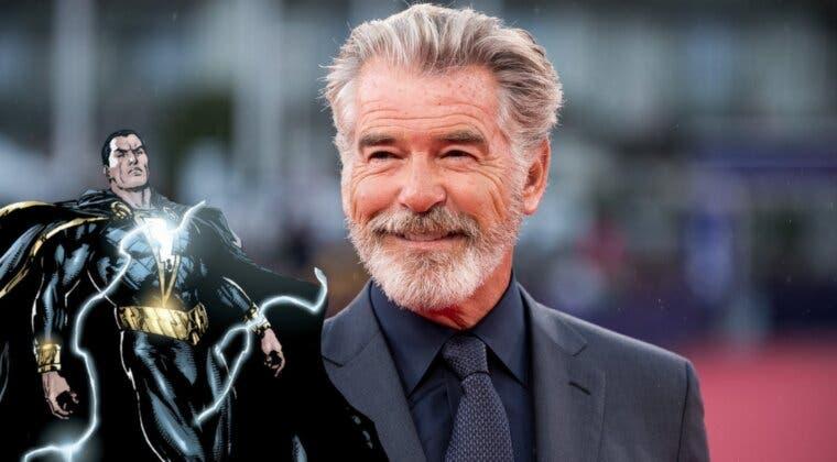 Imagen de ¿El casting perfecto? Pierce Brosnan cree que Dwayne Johnson 'está magnifico' como Black Adam