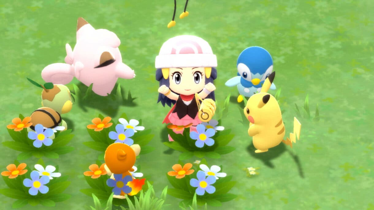 Plaza Amistad Pokemon Diamante Brillante y Perla Reluciente
