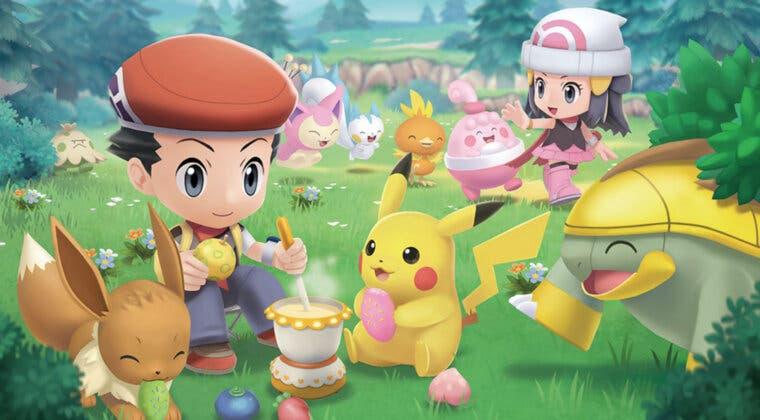 Imagen de Pokémon Diamante Brillante y Perla Reluciente se luce en un nuevo tráiler: Poké-reloj, Plaza Amistad, etc.