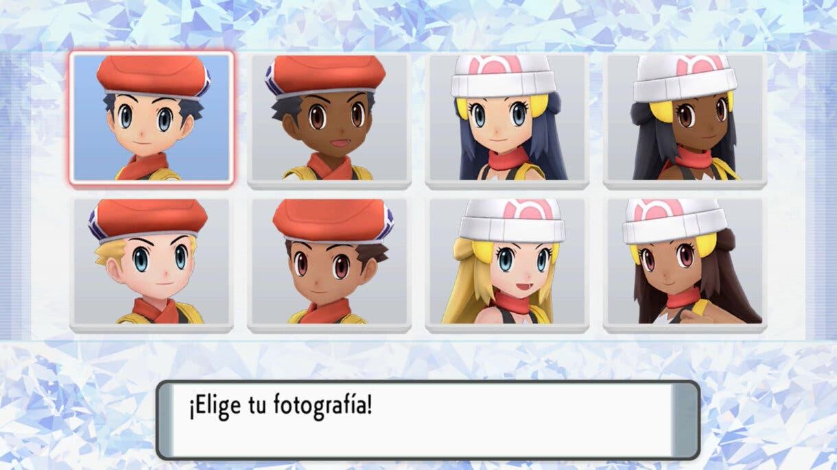 Pokemon Diamante Brillante y Perla Reluciente avatares