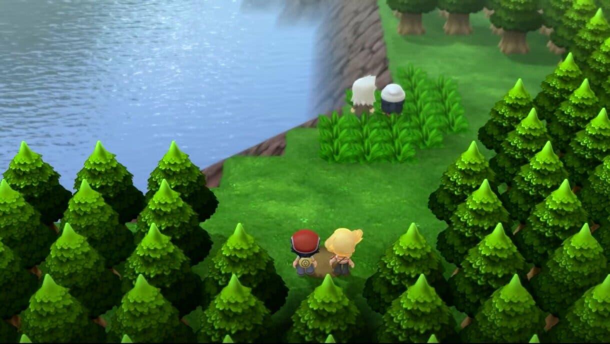 Pokemon Diamante Brillante y Perla Reluciente Lago Veraz